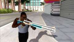 Weapons Pack Blue Evolution (chromegun) pour GTA San Andreas