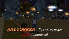 Finale de la rue Halloween Mod Grove pour GTA San Andreas