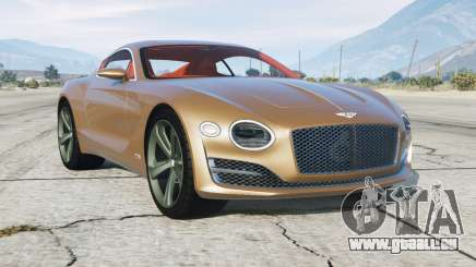 Bentley EXP 10 Speed 6 2015 pour GTA 5