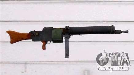 Screaming Steel MG 08-15 pour GTA San Andreas