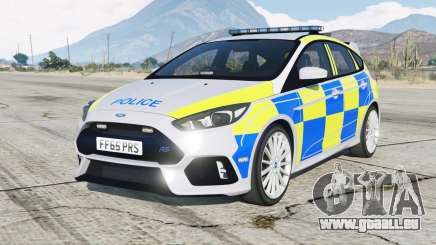 Ford Focus RS Police pour GTA 5