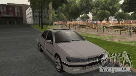 PEUGEOT 406 No Plates für GTA San Andreas