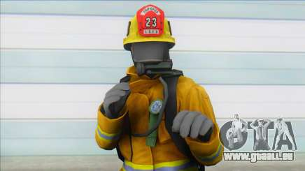 Firefighters From GTA V (lafd1) pour GTA San Andreas