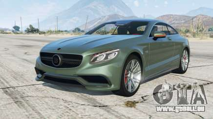 Brabus 850 Biturbo coupe (C217) 2015 pour GTA 5