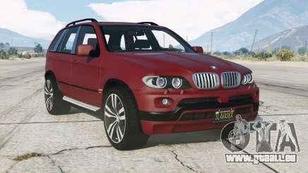 BMW X5 4.8is (E53) 200ⴝ pour GTA 5