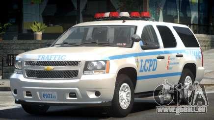 Chevrolet Tahoe GMT900 2007 LCPD für GTA 4