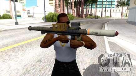 Hawk & Little Homing Launcher Black für GTA San Andreas
