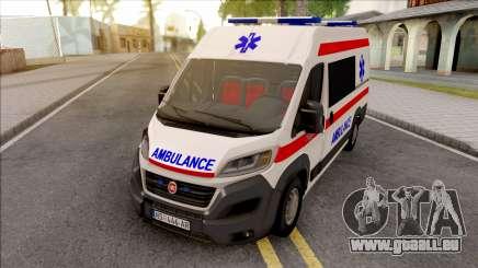 Fiat Ducato 2020 Serbian Ambulance für GTA San Andreas