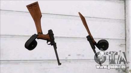 Screaming Steel Luger LP-08 für GTA San Andreas