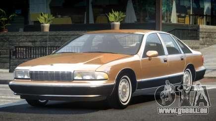 1993 Chevrolet Caprice R1 pour GTA 4