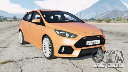 Ford Focus RS (DYB) Unmarked Police pour GTA 5