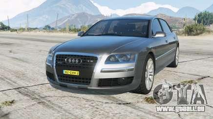 Audi A8 L W12 quattro (D3) Onopvallend Politie pour GTA 5
