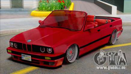 BMW E30 - Cabrio (ETB Lojistik) pour GTA San Andreas
