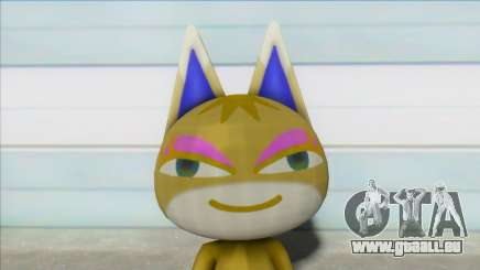 Animal Crossing Nude Cat Skin V17 pour GTA San Andreas