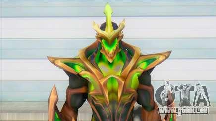 Galaxy Slayer Zed Emerald pour GTA San Andreas