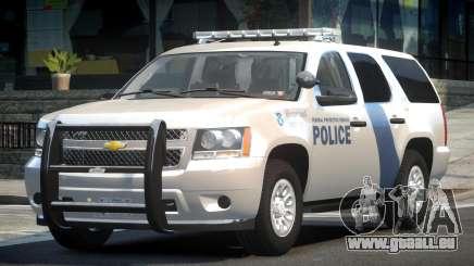 Chevrolet Tahoe GMT900 2007 Homeland Security pour GTA 4