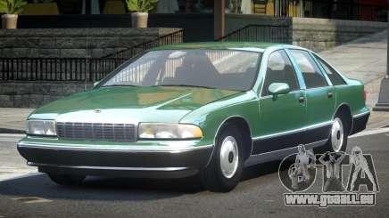 1993 Chevrolet Caprice R2 pour GTA 4