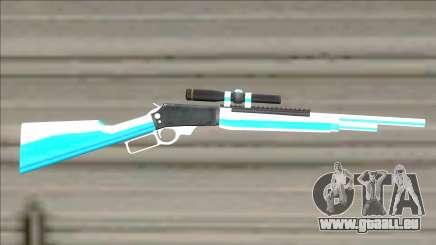 Weapons Pack Blue Evolution (cuntgun) für GTA San Andreas