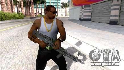 M60E4 Minigun für GTA San Andreas