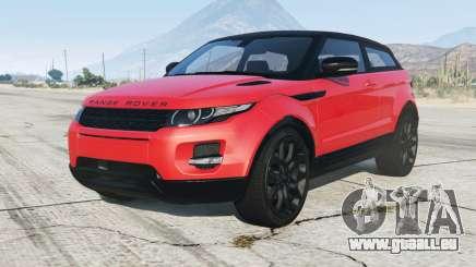 Range Rover Evoque 2012 pour GTA 5