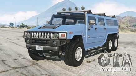Hummer H2 6ᶍ6 für GTA 5