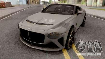 Bentley Mulliner Bacalar 2021 für GTA San Andreas