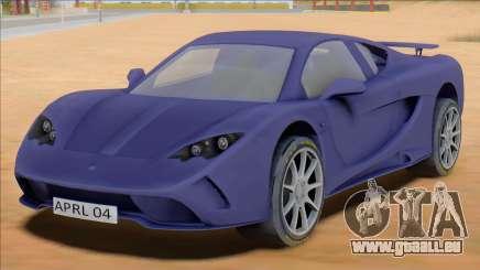 Vencer Sarthe Supercar für GTA San Andreas