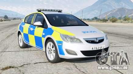 Vauxhall Astra British Police für GTA 5