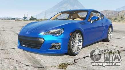 Subaru BRZ (ZC6) 2013 pour GTA 5