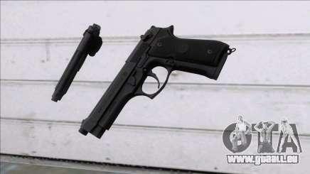 PUBG Beretta P92 für GTA San Andreas