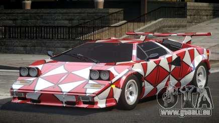 Lamborghini Countach RT L4 pour GTA 4
