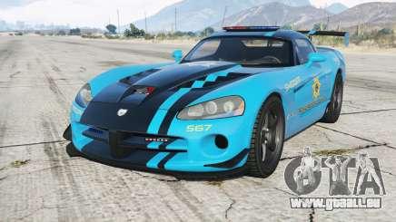 Dodge Viper SRT-10 ACR Hot Pursuit Police pour GTA 5