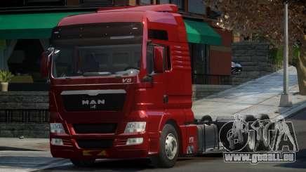 MAN TGX pour GTA 4