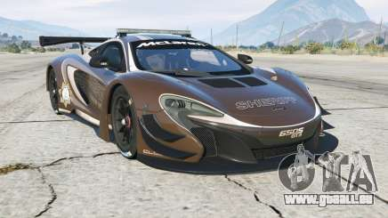 McLaren 650S GT3 Pursuit Edition für GTA 5