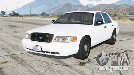 Ford Crown Victoria Undercover pour GTA 5