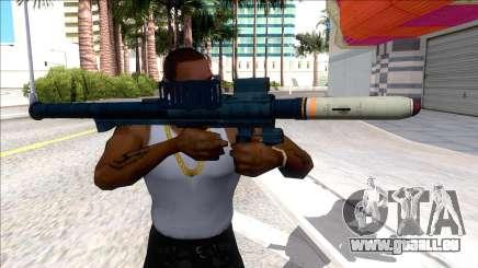 Hawk & Little Homing Launcher LSPD für GTA San Andreas