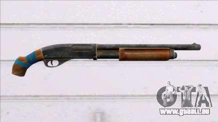 Fear the Wolves Remington-870 pour GTA San Andreas