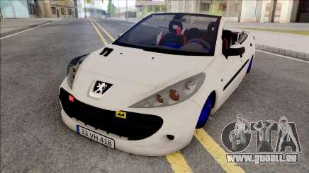 Peugeot 207 Crook pour GTA San Andreas