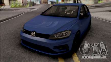 Volkswagen Golf 7 Blue pour GTA San Andreas