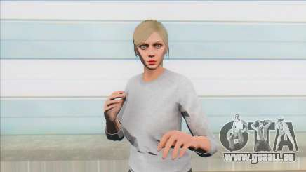 Skin Random 7 From GTA V Online Female pour GTA San Andreas
