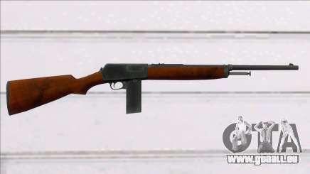 Screaming Steel Winchester M1907 für GTA San Andreas