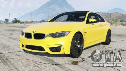 BMW M4 coupe (F82) 2015 pour GTA 5