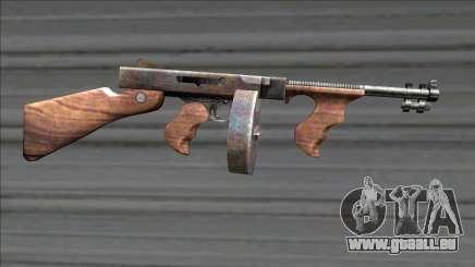 Resident Evil 4 chicago typewriter drum mag für GTA San Andreas
