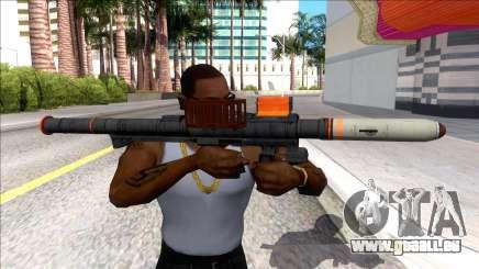 Hawk & Little Homing Launcher Orange für GTA San Andreas