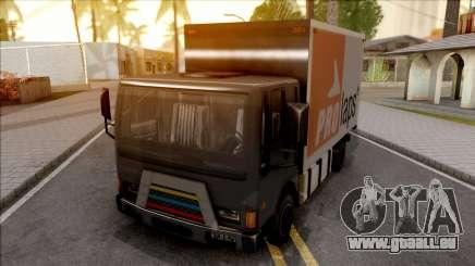 Boxburg Con Logos pour GTA San Andreas