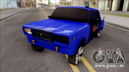 Vaz 2107 Bakines Style ParSam1K pour GTA San Andreas