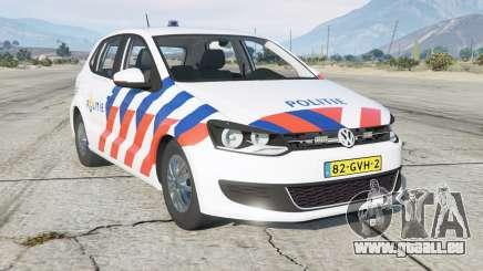 Volkswagen Polo 5-door (Typ 6R) Politie pour GTA 5