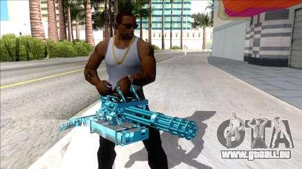Weapons Pack Blue Evolution (minigun) für GTA San Andreas