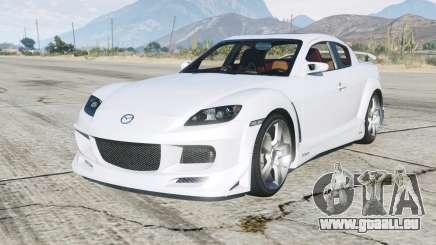 Mazda RX-8 200Ꝝ pour GTA 5