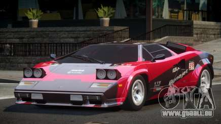 Lamborghini Countach RT L9 pour GTA 4